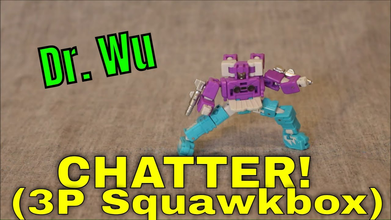 Double the Danger, Double the Fun: Dr. Wu Chatter (Squawkbox) Review by GotBot