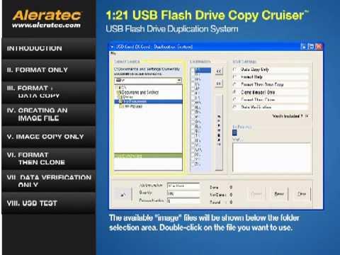 aleratec usb duplicator software suite