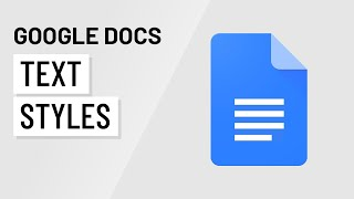 Google Docs: Working Wİth Style(s)