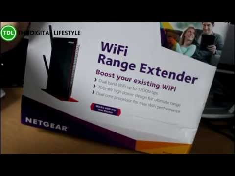 netgear range extender hook up