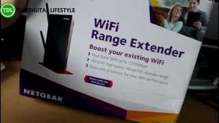 netgear high power wifi range extender ex6200