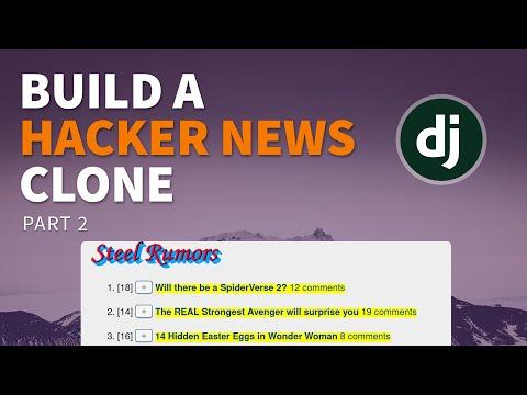Building a social news site in Django - Part 2 (Screencast)