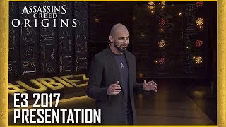 Assassin's Creed Origins: E3 2017 Official Conference Presentation | Ubisoft [NA]
