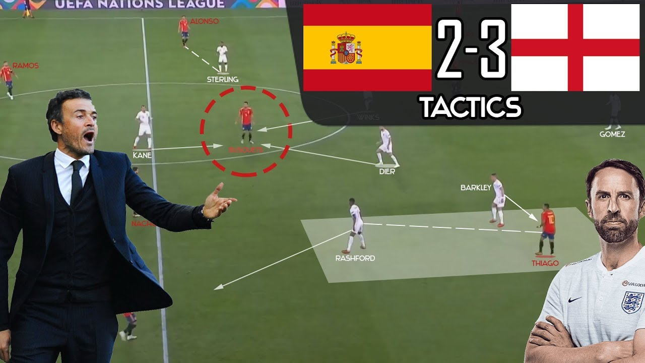 Download Spain 2-3 England: Southgate's Tactical Masterclass vs. Enrique To Cancel All His Tactics - Analysis