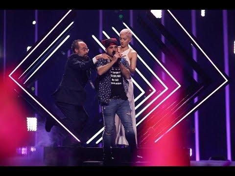 Eurovision 2018 UK Stage Invasion- United Kingdom Euro Vision
