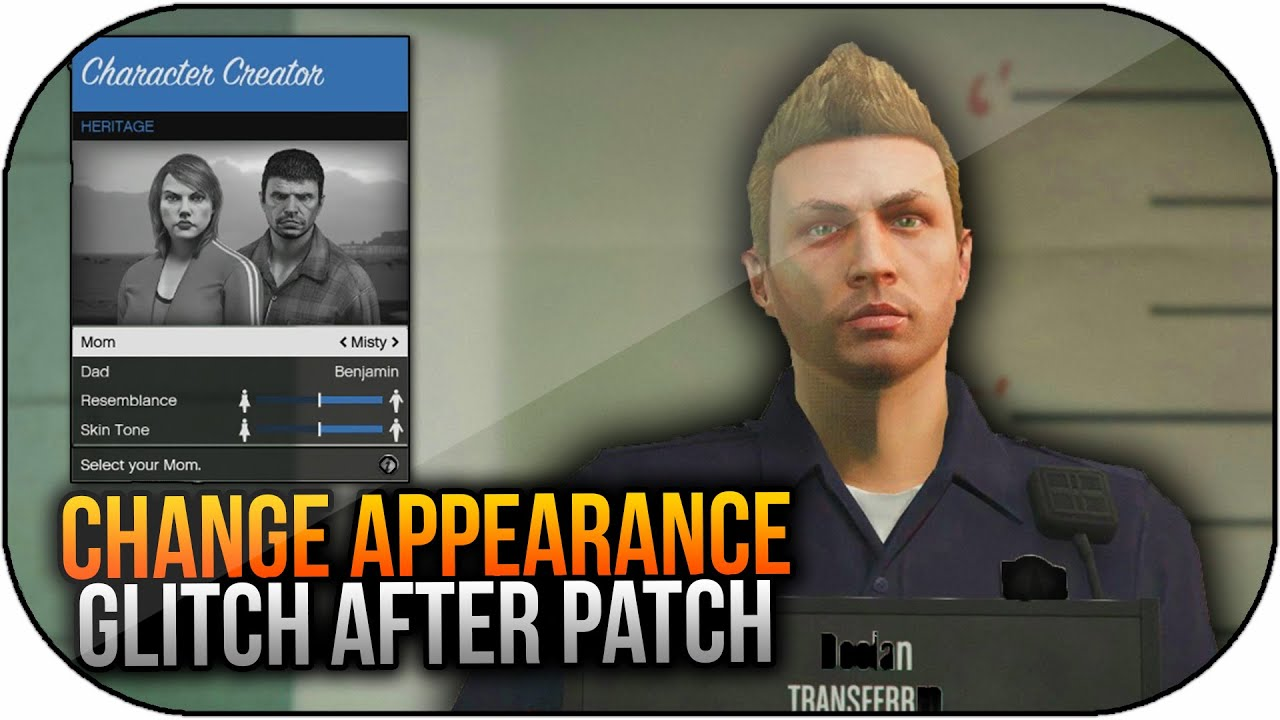 Gta  Online How To Change Your Characters Appearance After Patch Youtube
