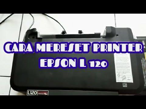 Cara Mereset Printer Epson L120