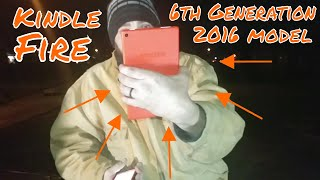 Amazon Kindle Fire HD8 6th Generation 2016 Model-First Look