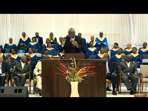 Bahamas Baptist Union Of Churches  123rd Conference Rev  Heuter Rolle
