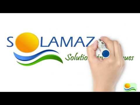 SOLAMAZ - Lampadaire Solaire Autonome LUZEKO.304
