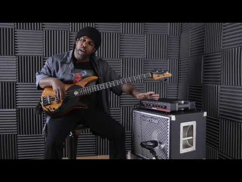 Victor Wooten demos the Hartke TX600 bass amp