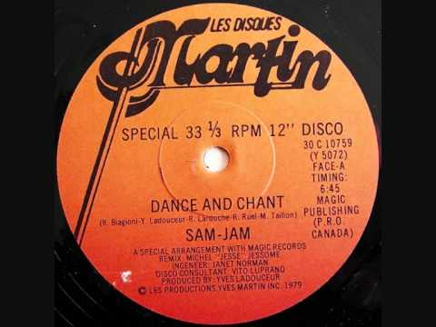 Sam-Jam - Dance And Chant - 1979