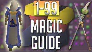 [OSRS] In-Depth 1-99 MAGIC Guide (2018 Best Methods)