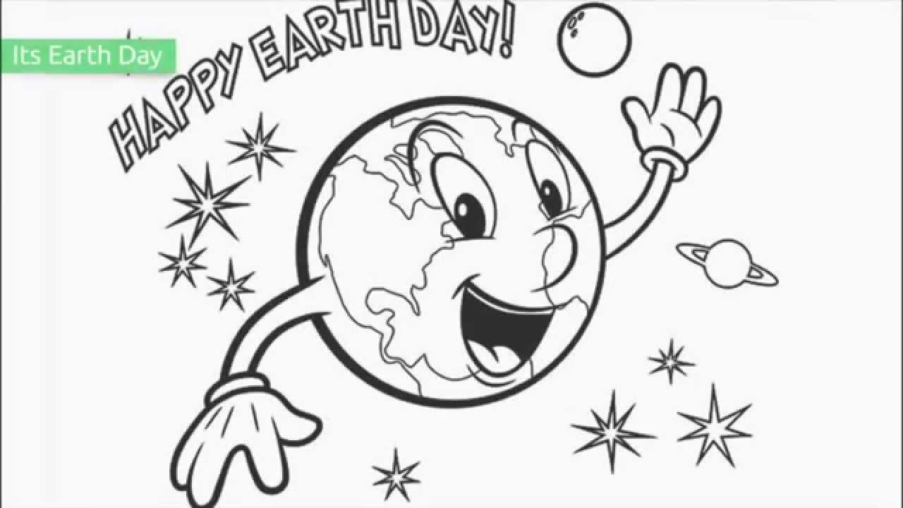 Free Coloring Pages Earth Day -