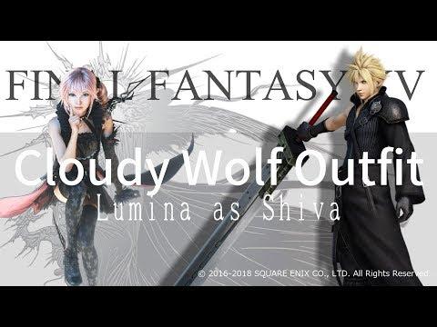 【FFXV】クラウド衣装/Cloudy Wolf&Summon Lumina MOD [FINALFANTASY15/FF15]