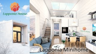 Lapponia Minihomes - award-winning modular thermolog homes for healthy living