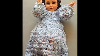Crochet : Niño Jesus. Faldon. Parte 1 de 2