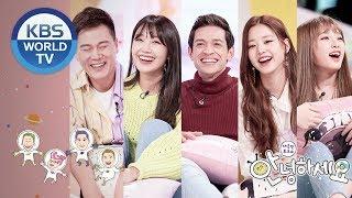 Guests : Byeon Gisu, Jeong Eunji, Daniel Lindemann, IZ*ONE[Hello Counselor/ENG,THA/2018.11.05]