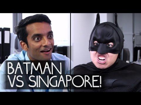 BATMAN vs SINGAPORE! (Bureau-Crazy Webseries EP5)