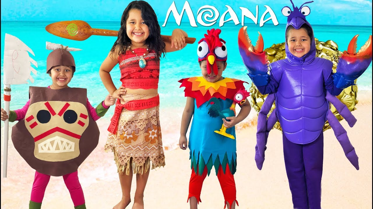 disney moana halloween costumes and toys