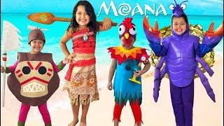 Disney MOANA Halloween Costumes and Toys