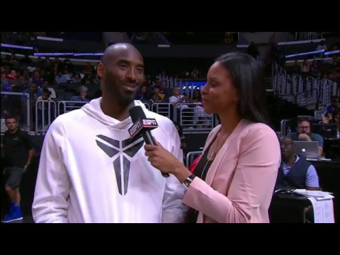 Kobe Bryant Gives His Thoughts on the WNBA at the Storm vs. Sparks Game | May 13, 2017