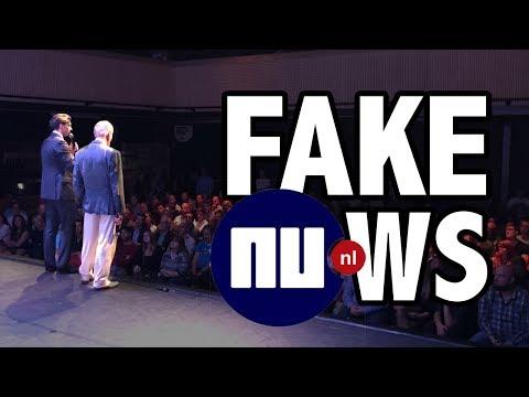 Baudet over FakeNews van NU.nl over anti-FVD demonstratie