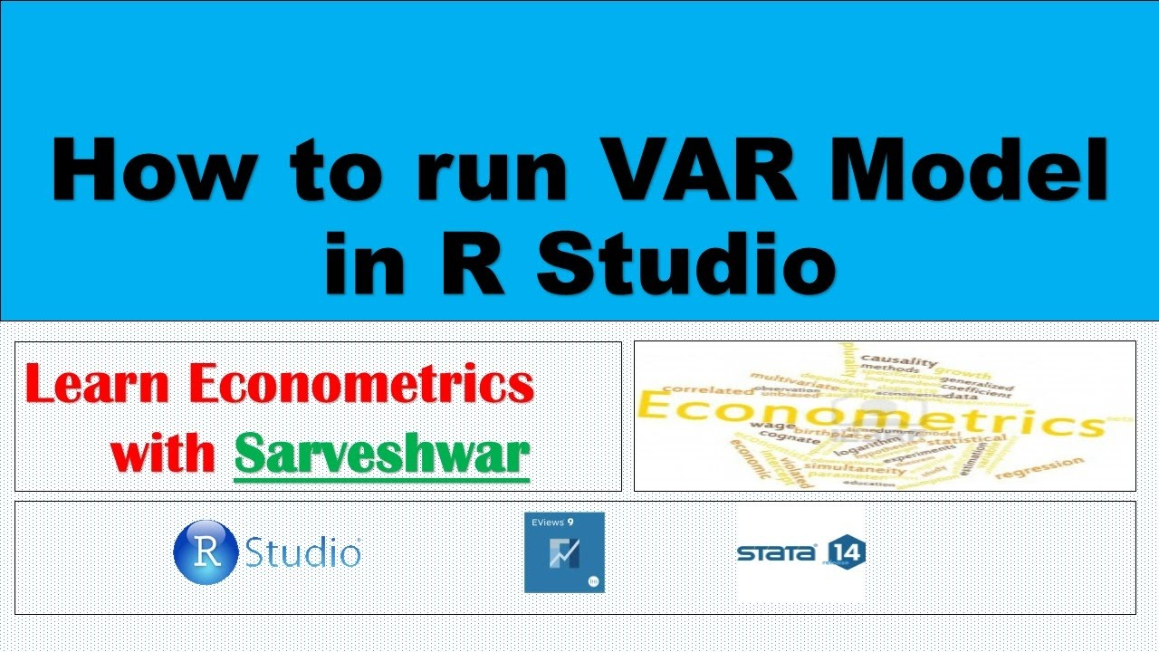 How to run VAR model in R Studio