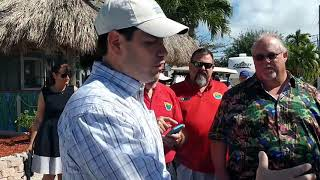 Florida Keys canal cleanup going well, but still needs work, says Sen. Rubio