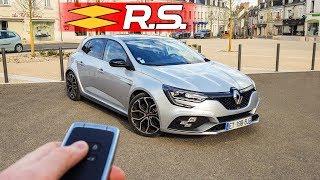 Essai Renault Megane 4 RS 2018, accélérations, son, avis + route fermée