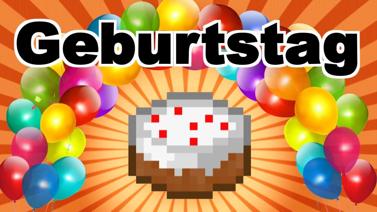 Geburtstag im Irrenhaus - Minecraft Sketch - YouTube
