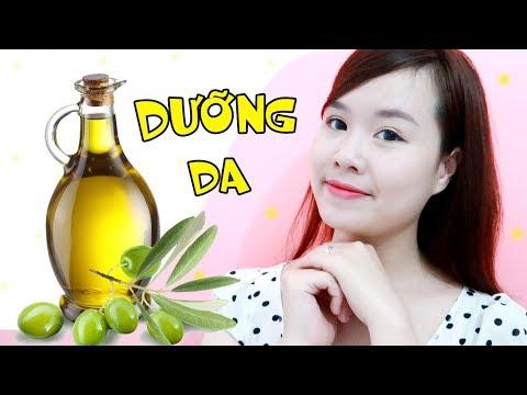 MẸO DƯỠNG DA TRẮNG MỊN VỚI DẦU OLIU – Olive Oil Beauty Hacks   Ngọc Bube