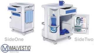 Komobì Dual Fronted Bedside Cabinet   Comodini