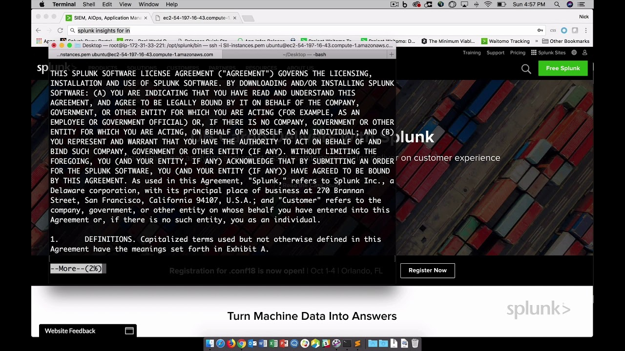 Splunk Security Operations, Senior Compliance Analyst Interview