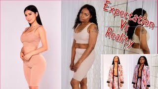 FASHION NOVA WE HAVE A PROBLEM| EXPECTATION VS REALITY