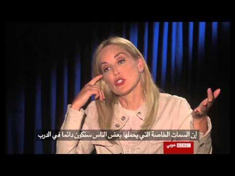 سينما بديلة:  لقاء خاص مع شارون ستون Sharon stone interview with BBC Arabic