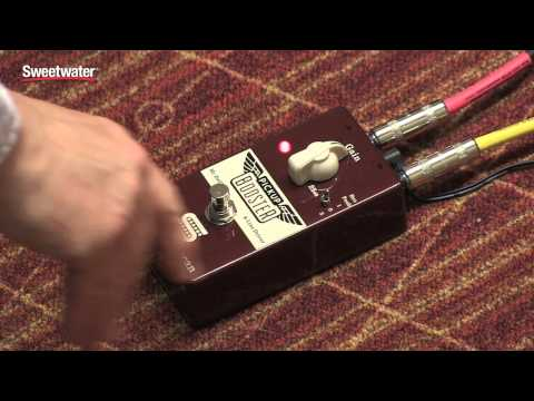 Seymour Duncan Pickup Booster Pedal Review - Sweetwater Sound