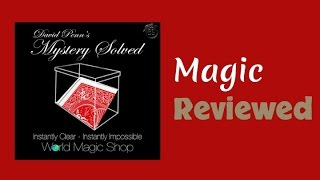 Mystery Solved By David Penn Reviewed