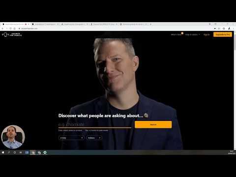 Come funziona Answer The Public? Scopri nuove keyword gratuitamente
