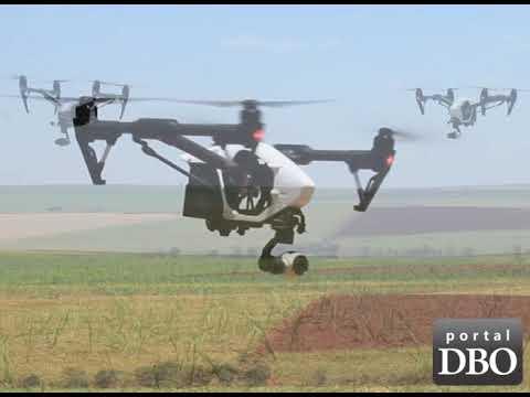 Diretor da Bembras Agro lista os benefícios dos drones para produtores