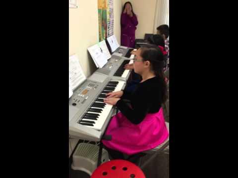 Beginning Keyboard Group Class at Masako's Music Studio