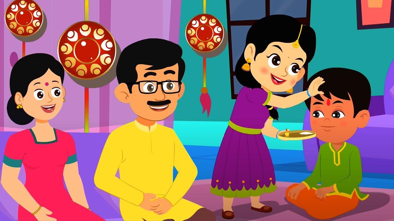 Happy Raksha Bandhan | हैप्पी रक्षा बंधन | Billi Mausi | Rim Jhim Baarish | Hathi Raja | Chanda Mama