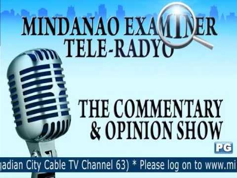 Mindanao Examiner Tele-Radyo Oct.1, 2013