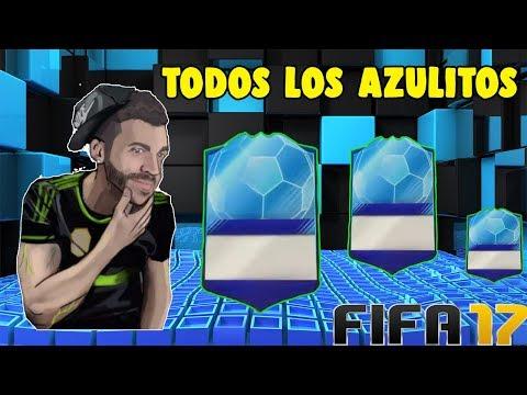 TODOS LOS AZULES DE DjMaRiiO EN FIFA 17