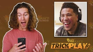 Devin Booker Pranks Fans With Epic Photobomb | Trick Play