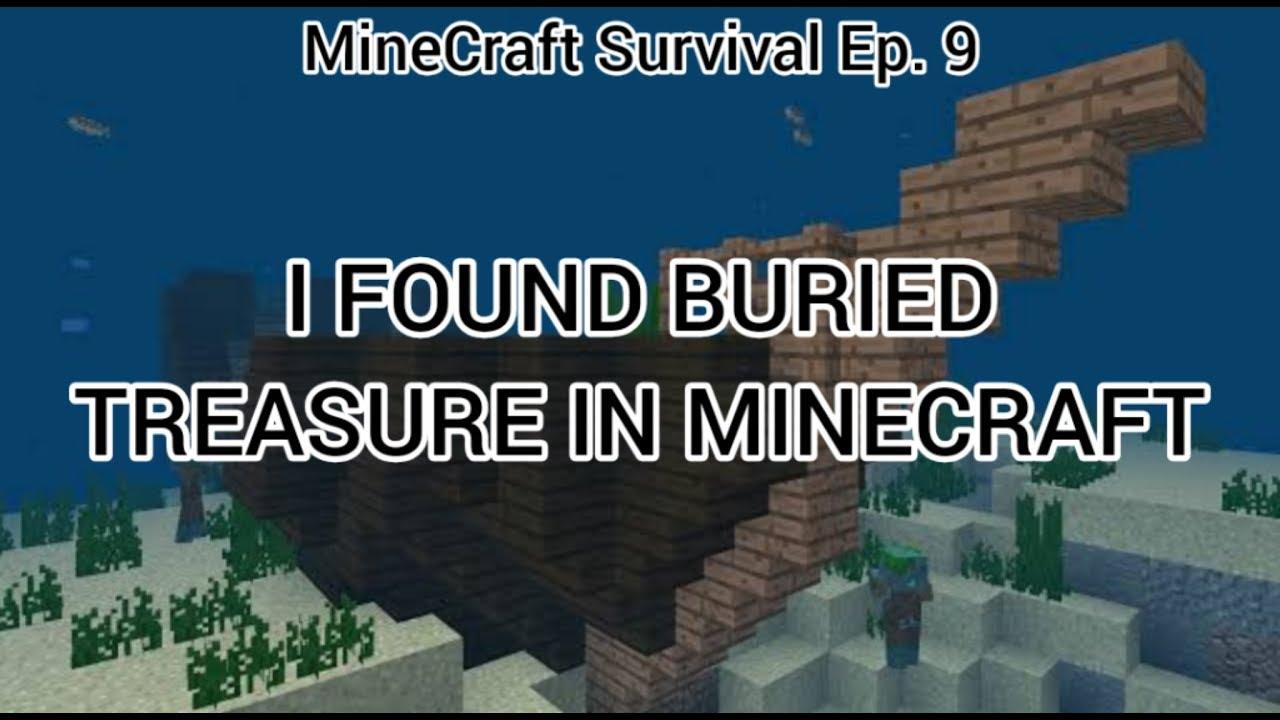 I FOUND BURIED TREASURE! | Minecraft Survival Ep  9