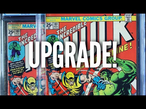 Unboxing a MAJOR COMIC GRAIL UPGRADE