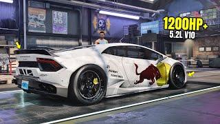 Need for Speed Heat Gameplay - 1200HP+ MAD MIKE LAMBORGHINI HURACAN Customization | Drift Build