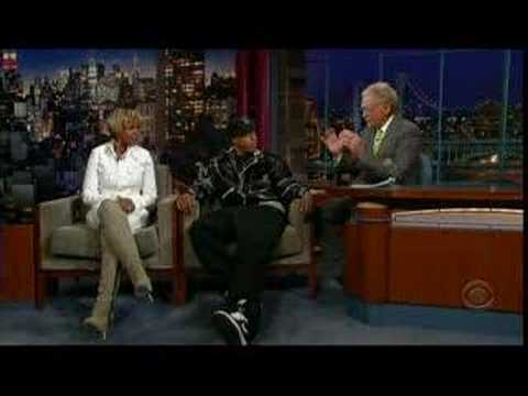 Jay-Z & Mary J Blige On David Letterman