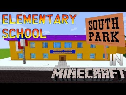 Minecraft South Park: Elementary School Tour